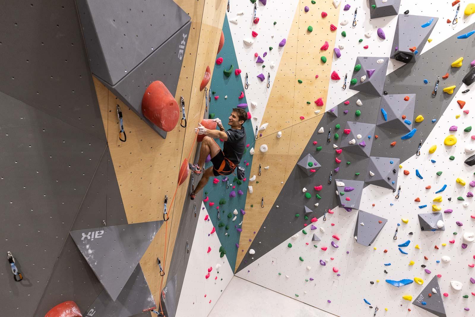 Réouverture des salles de sport : salle d'escalade Climb Up